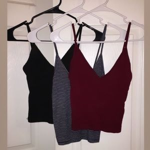 Brandy Melville crop tank bundle